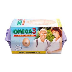 huevo omega 3