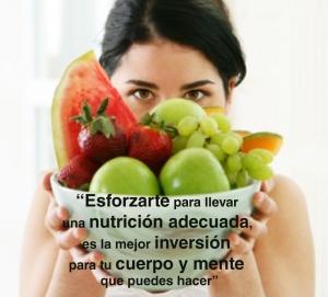 nutricion adecuada